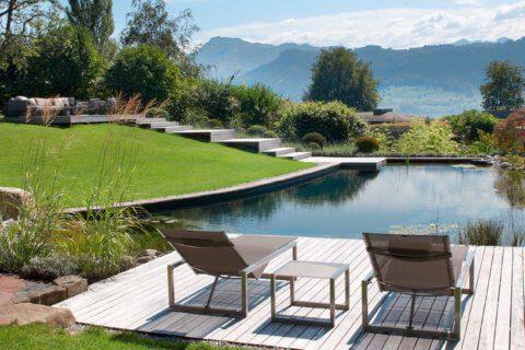 Gartengestaltung Rapperswil-Jona Schwimmteich