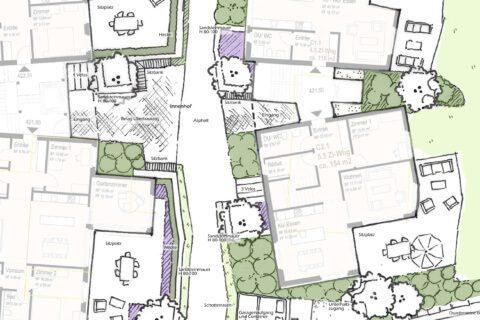 Gestaltungswettbewerb-Schänis-Unterdorf-Gartenkonzept-Titel