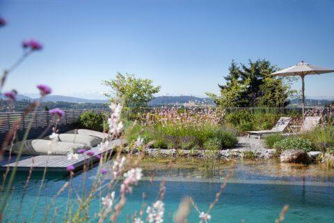 Gartengestaltung-mit-Schwimmteich-VIlla-3