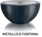 Metallico, Pflanzgefäss, Topf, Gartenzubehör, Amadeo Ambiente